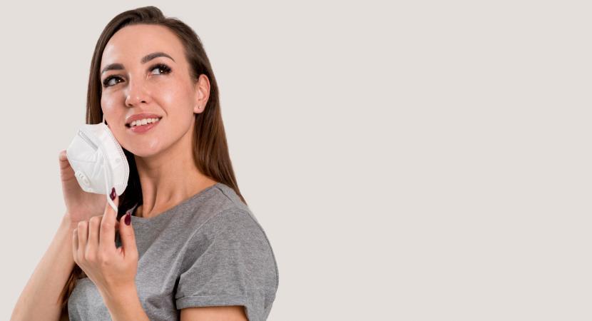 KN95: 4 Tips para cuidar tu piel del uso de la mascarilla