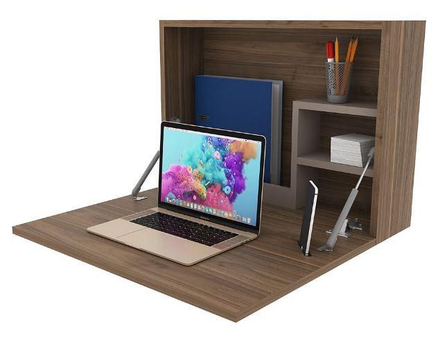 escritorio de pared para el home office