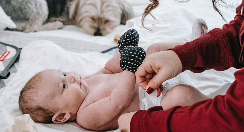 Pañales para bebé: conoce los tipos de pañal