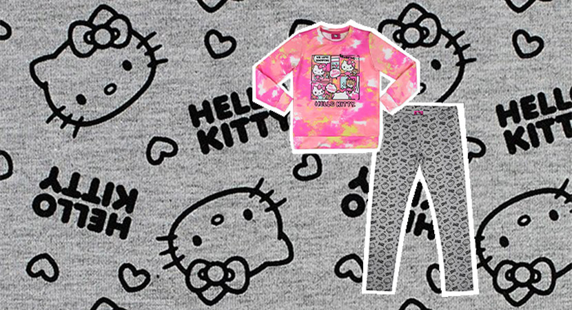 Línea de ropa Hello Kitty: una divertida opción para vestir