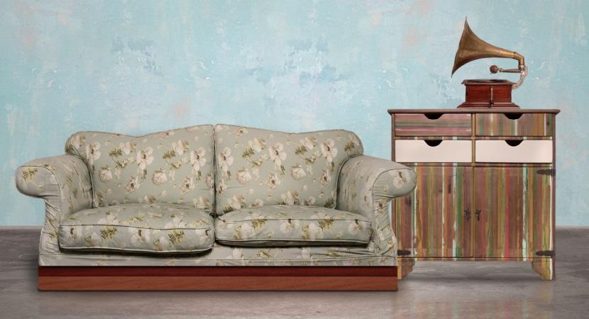 Muebles vintage para tu sala