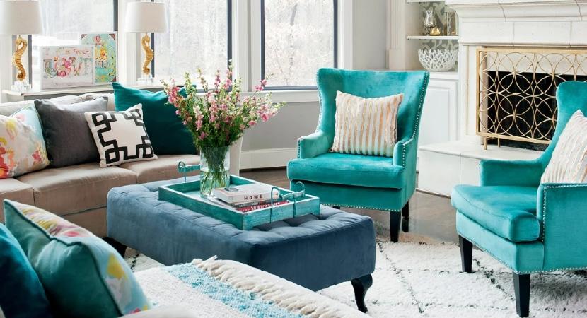 ¿Muebles de colores?: Una alternativa